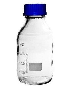 Frasco reagente laboratório