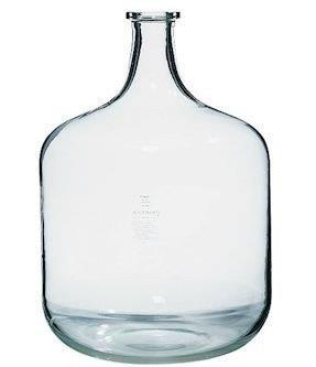 Garrafas de vidro para laboratório