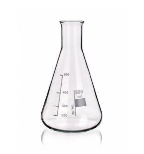 Vidrarias de laboratório graduadas e volumétricas