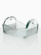 Berço de Vidro sem Alça Inox, para 8 Lâminas 76 X 26 Mm