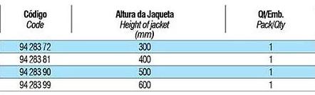 tabela condensadores 16
