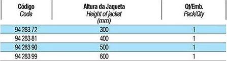 tabela condensadores 10